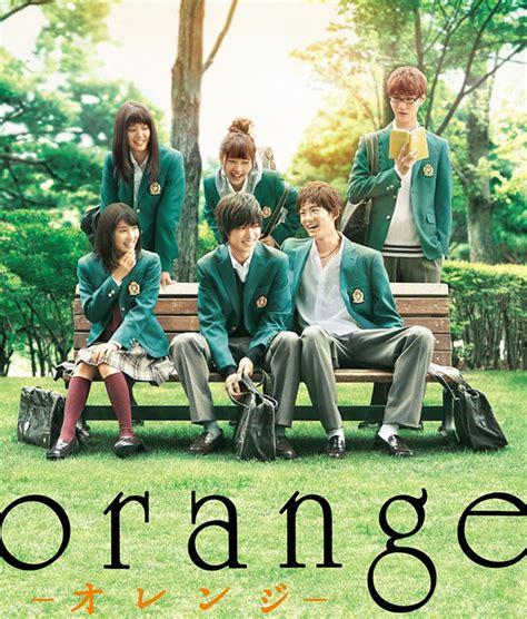 film anime versi orang le bluray du film live orange dat 233 au japon
