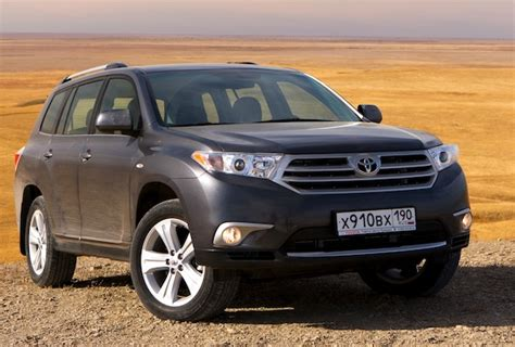 Toyota Cars For Sale Nz New Zealand June 2012 Toyota Highlander 4 In Market Up