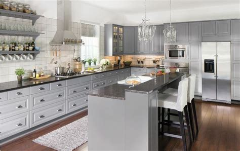 kitchens do come true like our new liding 214 grey