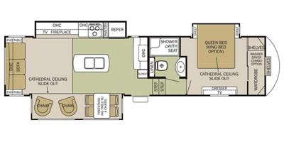 silverback 5th wheel floor plans 2015 cedar creek silverback fifth wheel series m 33ik