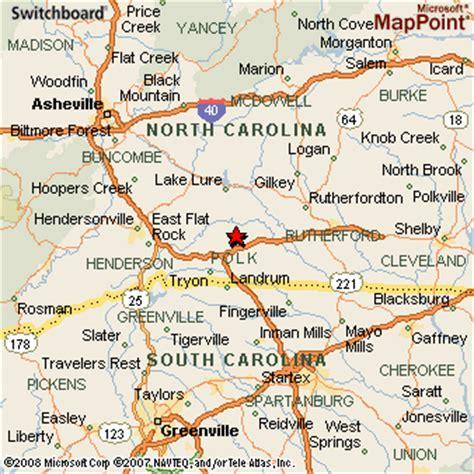 map of springs nc cground nc
