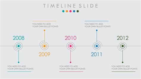 Animated Powerpoint Timeline Slide Design Tutorial Youtube Animated Timeline Powerpoint Template