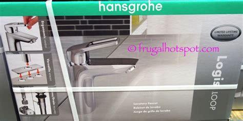 hansgrohe bathroom faucet costco costco sale hansgrohe logis loop chrome bath faucet 59 99 frugal hotspot