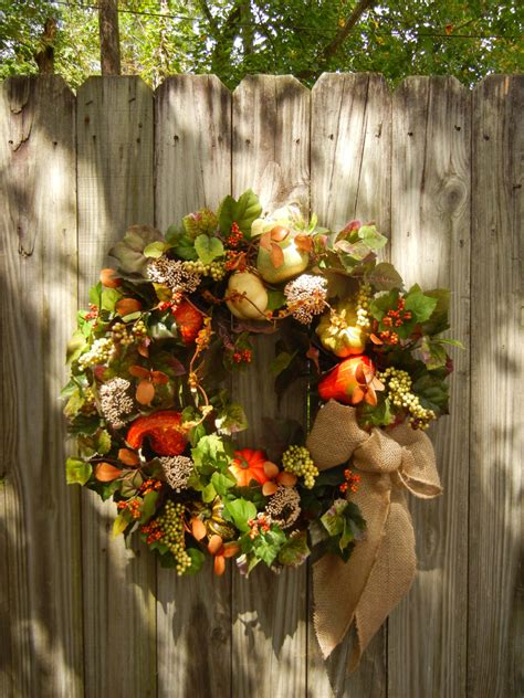 large front door wreaths large fall wreath front door wreath autumn wreath