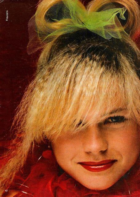 alyssa milano hairline glossy sheen dolly magazine australian special 1986
