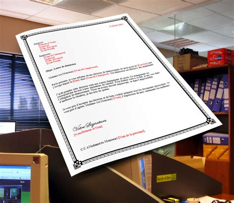 Exemple Lettre De Demission Forc E lettre de d 233 mission pour faute grave de l employeur