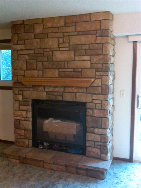Limestone Fireplace Repair by City Fireplace Co Fireplaces Minneapolis