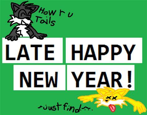 late happy new year by randomfoxfan on deviantart