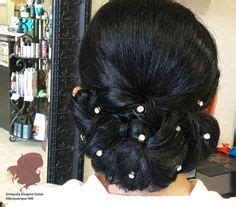 haircuts and more abq lady in red hair african american hair style ethnic hair