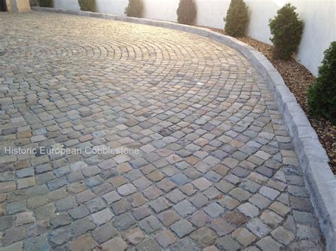 17 Best Images About Reclaimed Cobblestone For Driveways Granite Patio Pavers