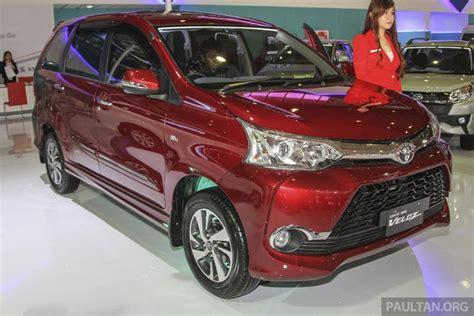 Toyota Avanza 2015 Iims 2015 Toyota Avanza Veloz Facelift From Rm56k
