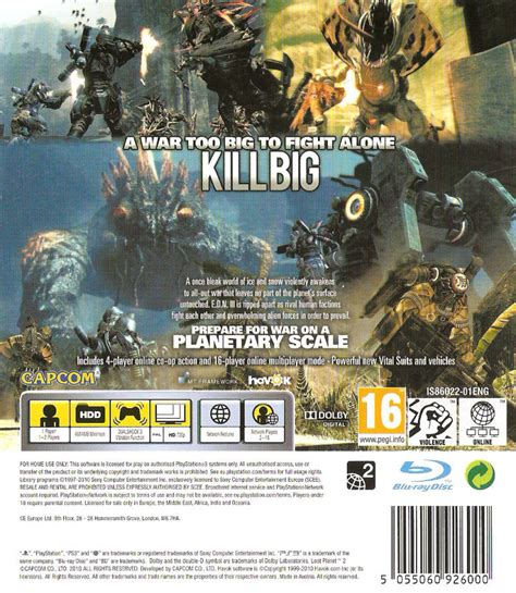 Lost Planet 2 Ps3 lost planet 2 2010 playstation 3 box cover mobygames