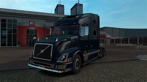 reworked volvo vnl   euro truck simulator  mods