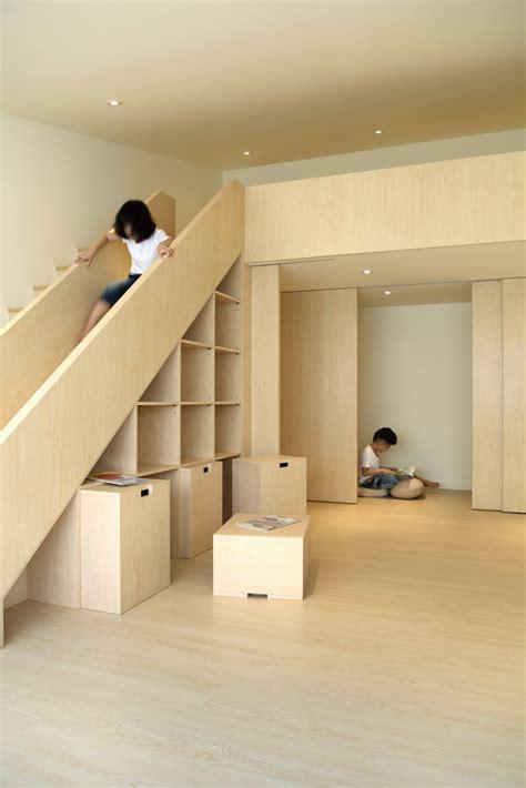 cool buildings  stair   happy kids