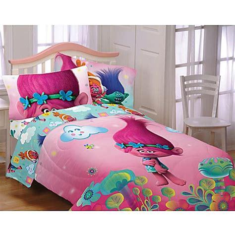 Macys Duvet Cover Trolls Hugs Harmony Twin Full Comforter Bed Bath Amp Beyond