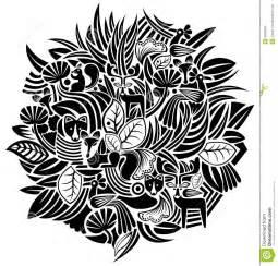 black and white animal pattern plant and animal pattern royalty free stock image image