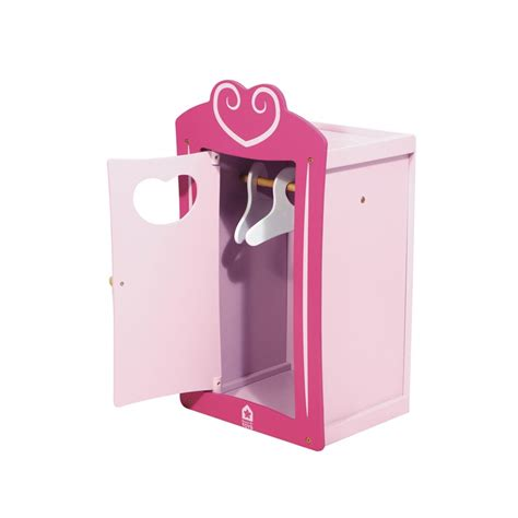 pine doll armoire coeur pinterest wooden heart wardrobe for dolls