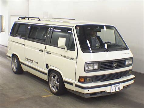 T3 Porsche by Porsche Ruf T3 Vanagon If You Need To Get There Fast