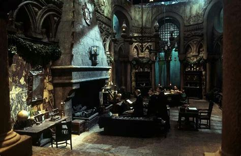 Slytherin Bedroom by Slytherin Common Room In The Dungeon The Lake