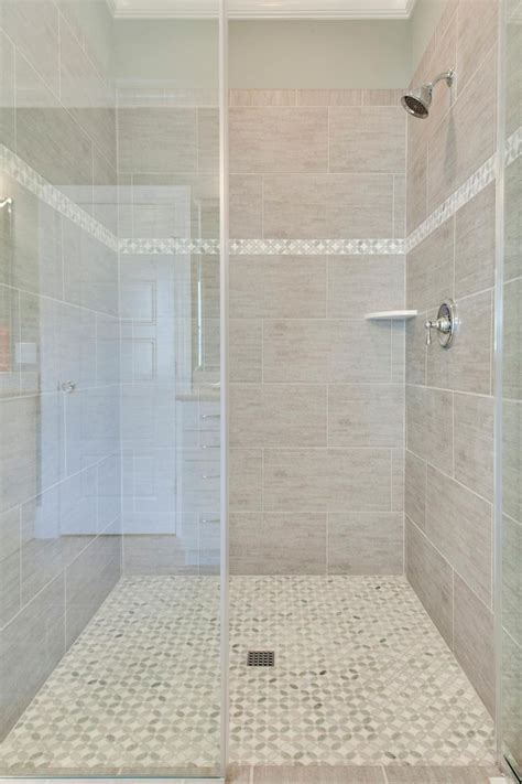 bathroom tile strips beautiful gray tile shower with thin accent strip hgtv