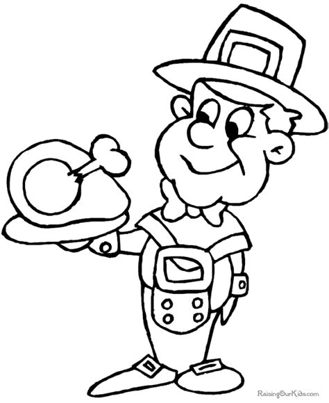 Pilgrim Preschool Coloring Page To Print 013 Kindergarten Thanksgiving Coloring Pages