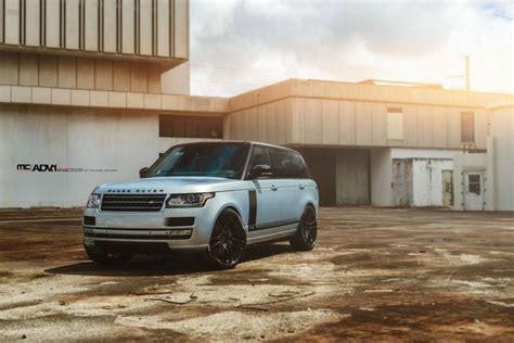 Tieferlegen Trotz H Kennzeichen by Mc Customs Verpasst Dem Range Rover Hsc 24 Zoll Adv 1