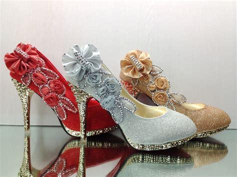 Hochzeits Herrenschuhe by Brautschuhe Hochzeits Schuhe Abends Kristall Blume Damen