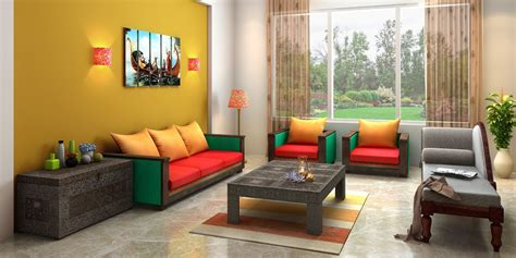 indian ethnic living room designs  indian soul