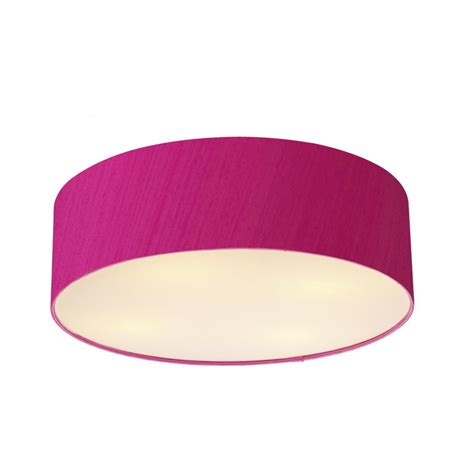 Pink Ceiling Lights Pink Ceiling Light Paolo Pao4803 4 L 800mm Flush Ceiling Light Silk Shade Pink Cambridge