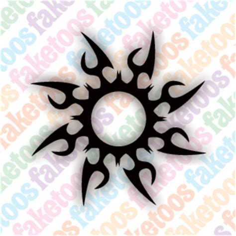 3x3 tattoo designs sunburst designs ideas pictures