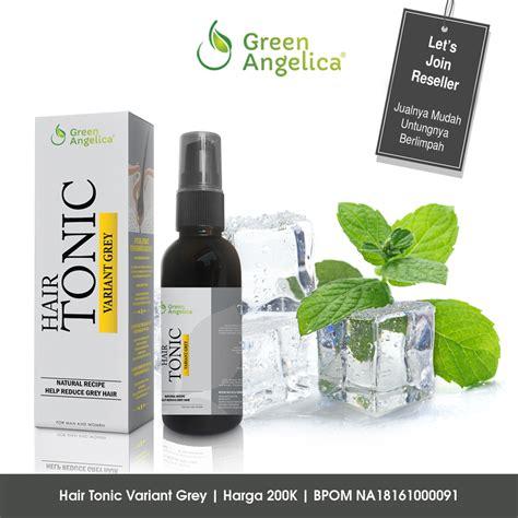 Harga Green Hair Tonic Variant Grey inilah obat uban sekaligus menumbuhkan rambut