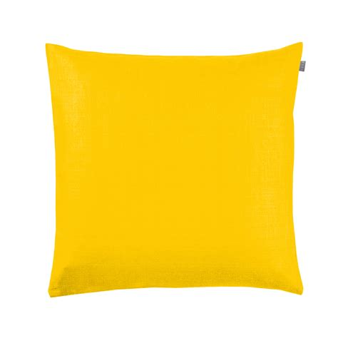 cusion covers cushion cover plain yellow zizi linen home textiles