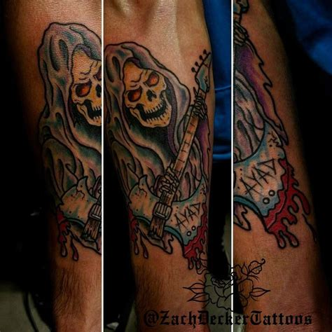 heavy metal tattoos immortal tattoos new school heavy metal