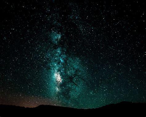 wallpaper  starry sky milky  night