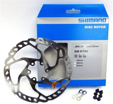 Disc Rotor 203 Rt66 Shimano shimano sm rt66 160mm mtb disc brake rotor for slx deore