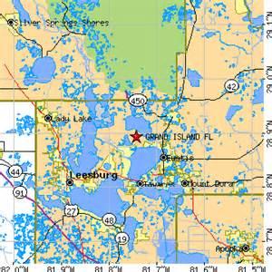 grand island florida fl population data races