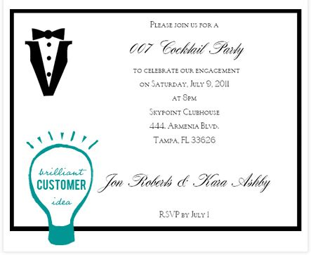 cocktail invitation cards templates cocktail invitation wording theruntime