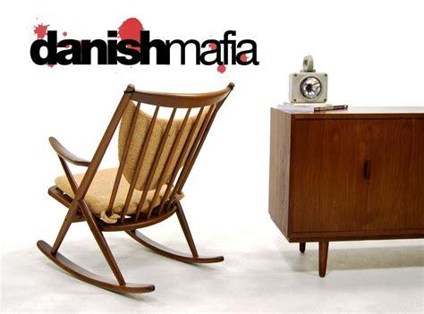 frank reenskaug rocking chair denmark rocking chair