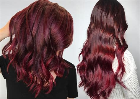burgundy hair color dye makeup colors for bright hair mugeek vidalondon