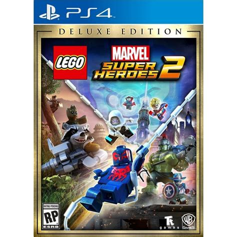Ps4 Lego Marvel Superheroes 2 lego marvel superheroes 2 deluxe edition ps4