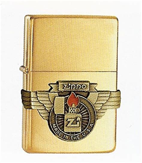 Zippo Brushed Brass Usa brushed brass vintage made in the usa zippo 581