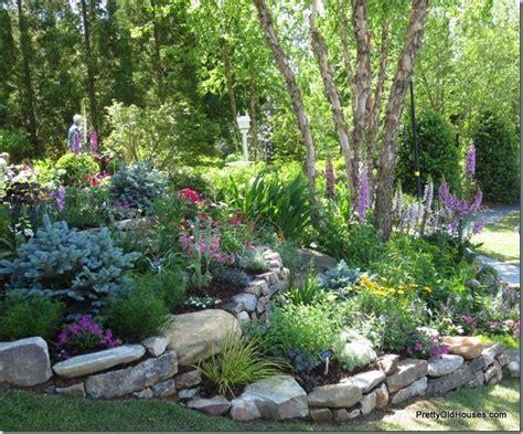 terraced flower beds garden ideas pinterest terraced