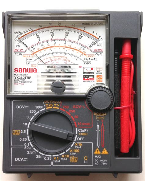 Multitester Analog multimeter