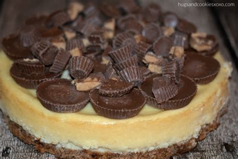 reeses salted caramel cheesecake hugs  cookies xoxo