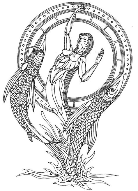 Pisces coloring, Download Pisces coloring for free 2019