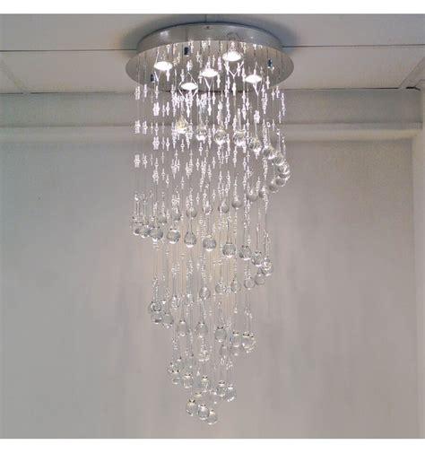 lustre en cristal lustre cristal design krakow transparent achat de