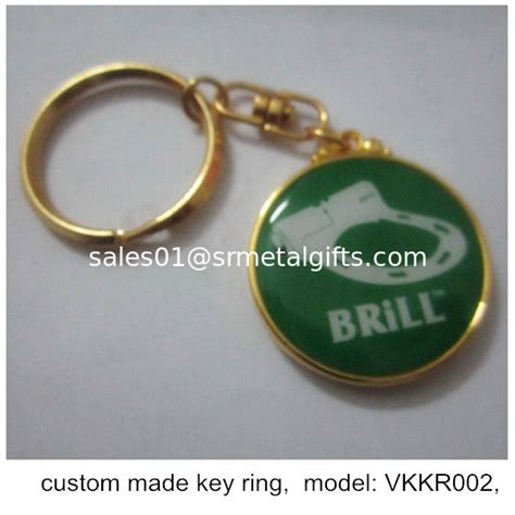 Branding Giveaways - epoxy resin key chains for branding promotion giveaways branded key rings for promotion