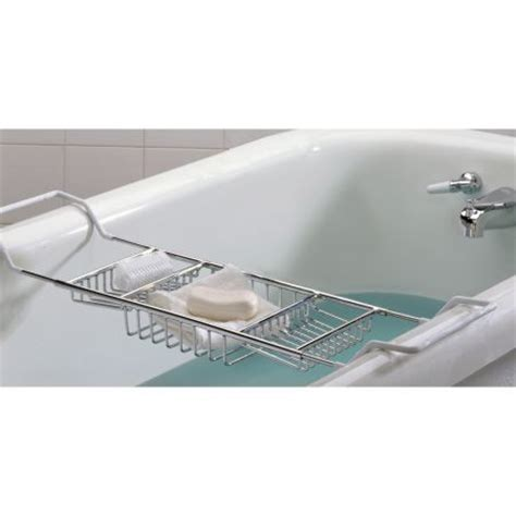 chrome bathtub caddy standard bathtub caddy polished chrome bathroom