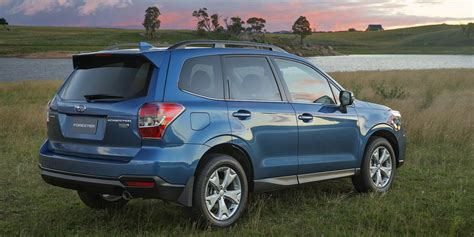 subaru forester car 2015 subaru forester pricing and specifications photos