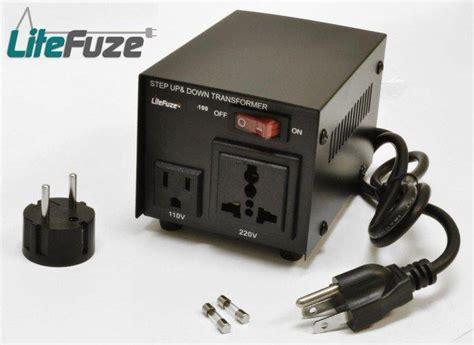 litefuze 100 watt voltage transformer converter lt 100w